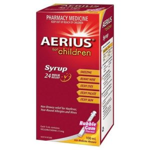 Dois-je donner de l'Aerius à mon enfant pour calmer son allergie ?