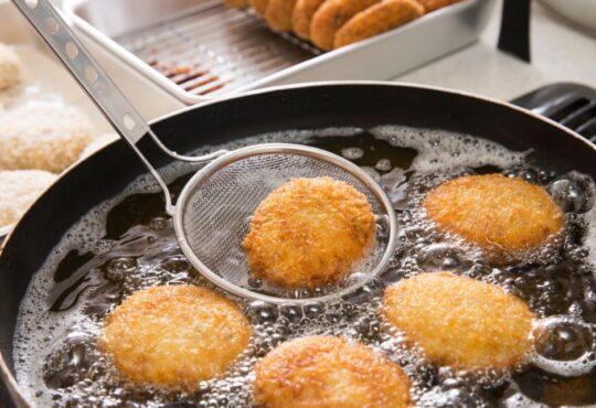 Des beignets dans l'huile