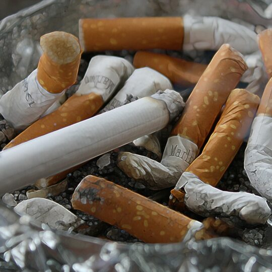 combustion du tabac