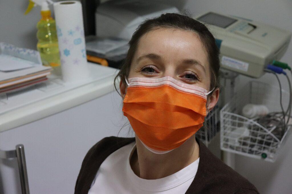 infirmière à Paris